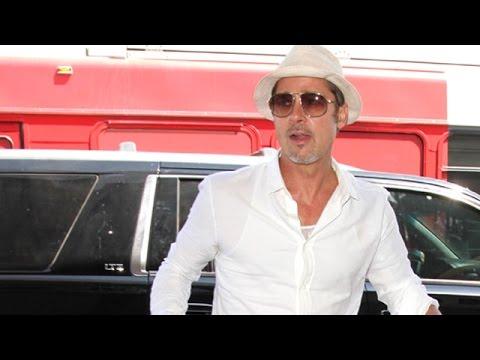 "Brad Pitt Says He's ""Not Interested"" In Politics"