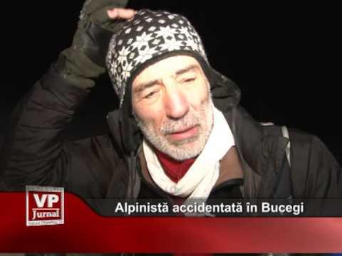 Alpinistă accidentată în Bucegi
