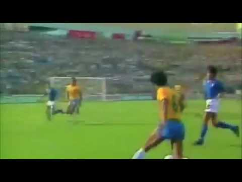 World Cup 1982 2nd Round: Brasil 2 - 3 Italy
