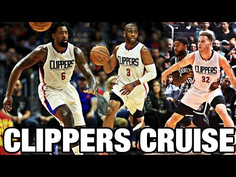 Clippers Cruise Past the Nets  Chris Paul Blake Griffin DeAndre Jordan