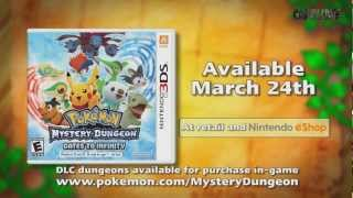 Pokémon Mystery Dungeon - Gates To Infinity Official English Trailer