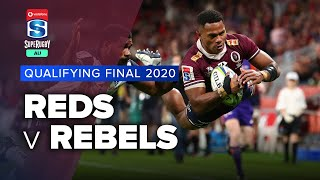 Reds v Rebels Qualifying Rd. 2020 Super rugby AU video highlights | Super Rugby AU Video Highlights