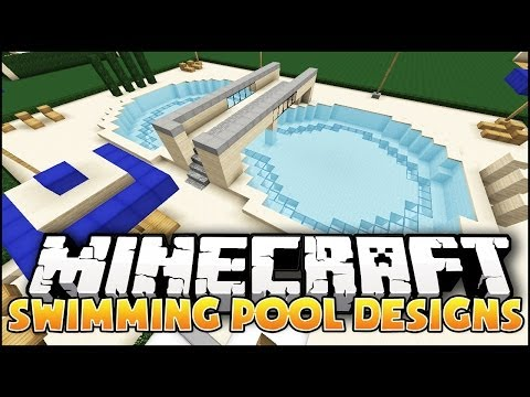 Minecraft: Swimming Pool Designs