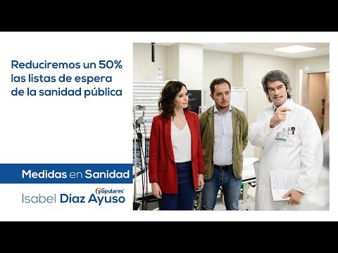Isabel Díaz Ayuso - Medidas en Sanidad