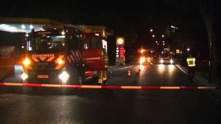 Brand bij tankstation blijkt loos in Bunschoten
