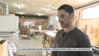 Lanslebourg France  city photos : MADE IN FRANCE : À Lanslebourg Mont Cenis, l'ébéniste rime avec modernité