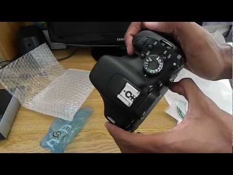 Canon EOS Rebel T3i / 600D Unboxing ( Body Only )