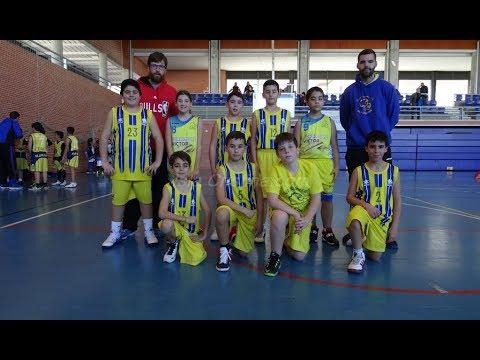 II Concentración alevín de Baloncesto celebrada en Isla Cristina