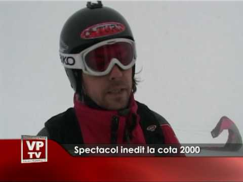 Spectacol inedit la Cota 2000