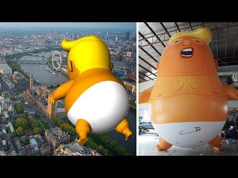 Riesiges Trump-Baby darf über London schweben – und d ...