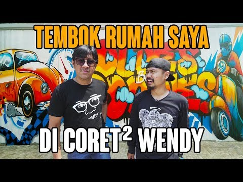 WENDY CORET-CORET TEMBOK RUMAH ANDRE