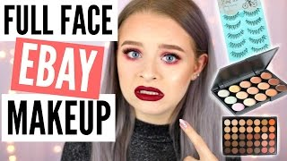 Video FULL FACE OF EBAY MAKEUP!! | sophdoesnails MP3, 3GP, MP4, WEBM, AVI, FLV Januari 2018