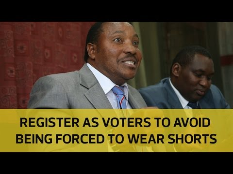 Raila will make us wear shorts if he becomes president