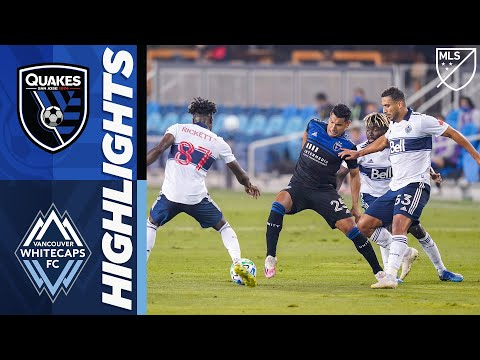 San Jose Earthquakes vs Vancouver Whitecaps FC | October 7, 2020 | MLS Highlights