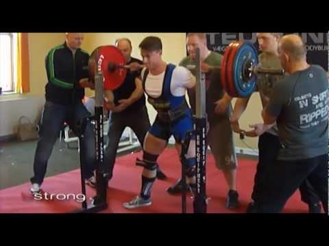 BESTRONG powerlifting athlete Frederik Petersen til ligastævne i Nors