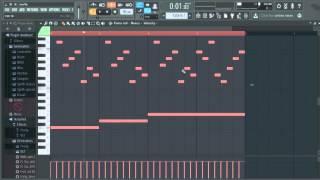 Видео урок как работать на FL Studio 12 (lesson 2 - Piano roll)