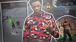 BOONK GANG ON NBA 2K18 MY PARK! THE FASTEST MAN ALIVE TAKESOVER NBA 2K18!