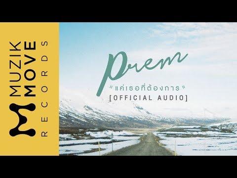 แค่เธอที่ต้องการ - PREM [Official Audio]