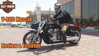 8. Harley Davidson V-Rod Muscle Review & Testride!