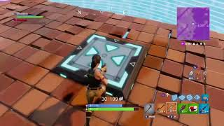 Fortnite Battle Royale Jump Pad Outplay