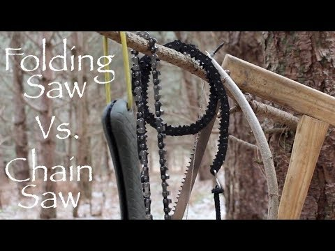 Video Bushcraft Saws -  A Comparison of  Popular Folding and Handheld Chain Saws. download in MP3, 3GP, MP4, WEBM, AVI, FLV January 2017