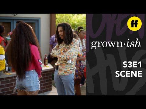 grown-ish Season 3 Premiere | Zuca Reunites After Summer | Freeform