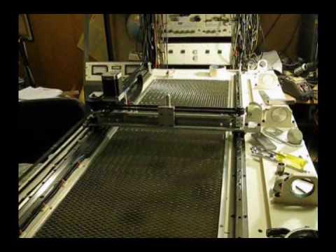 60 Watt CNC CO2 DIY Laser Positioning system
