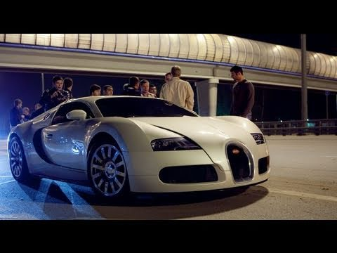 nissan - Full video with Bugatti Veyron vs Nissan GT-R vs Nissan GT-R.