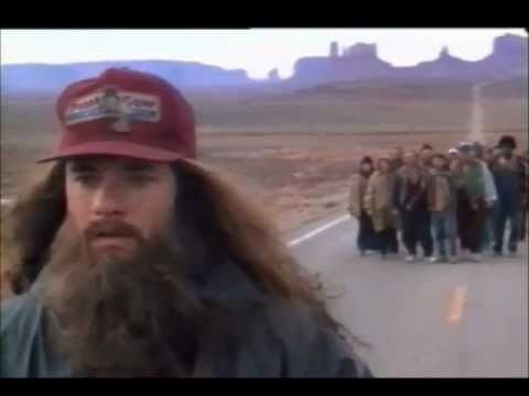 GUMP - The movie forest gump is amazing and this scene where Forest goes on a very very long run is great. Dont forget to LIKE and SUBSCRIBE.
