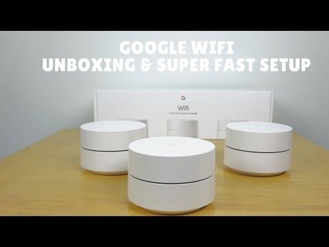 Google Wi-Fi Unboxing & Super Fast Setup