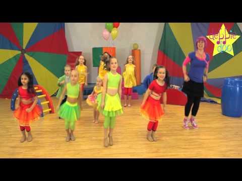 Debbie Doo & Friends! - Let's Star Jump! - Dance Song For Children