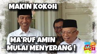 Video Ma'ruf Keluar Me (nyer) ang, Jokowi: Diajak Be (rant) em, Berani MP3, 3GP, MP4, WEBM, AVI, FLV Februari 2019