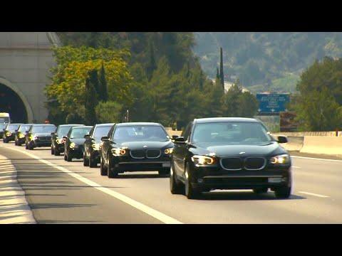 200 BMW 7 for the Wedding of HSH Prince Albert II of Monaco [HD]