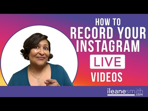 Watch 'How To Record Your Instagram Live Video on Mac'