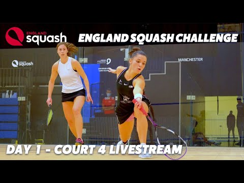 AJ Bell England Squash Challenge - Court 4 - Day 1