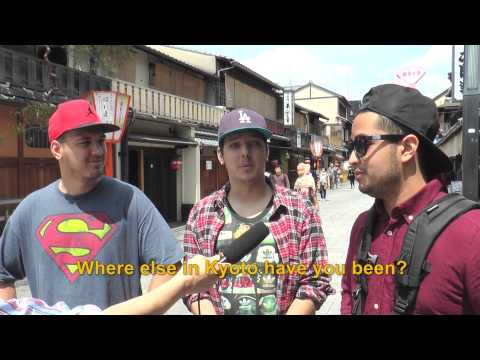 Travelers' Voice of Kyoto:GION Area Interview 005