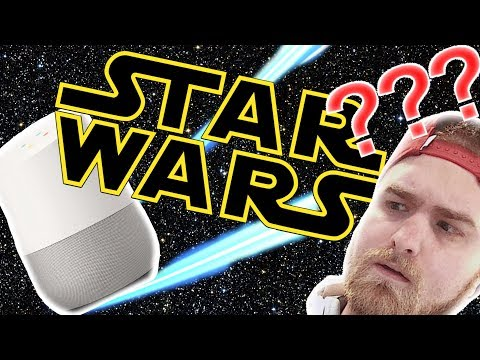 Google Home Star Wars Trivia is insanely hard.