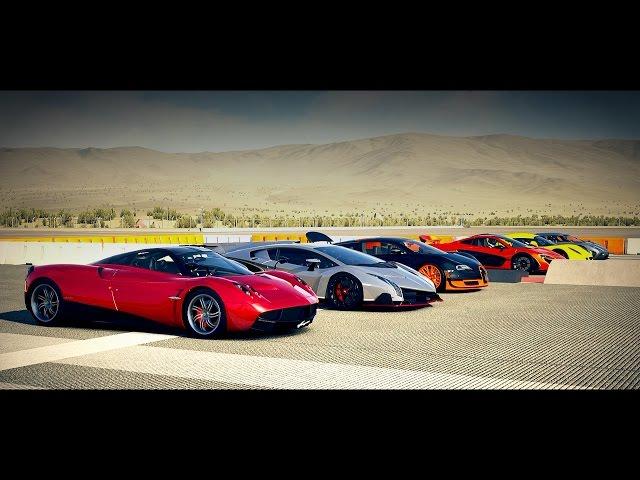 worlds greatest drag race veyron agera mclaren p1 huayra