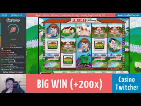Prime Property - BIG WIN - Bet size: €0.80