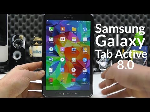 Samsung Galaxy Tab Active 8.0 Unboxing