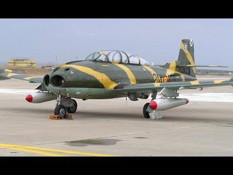 Aviones de caza en el Ejército del Aire desde 1950 a 1970