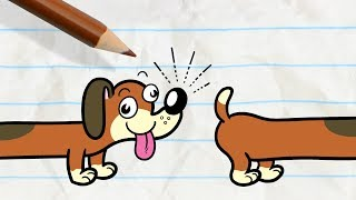 Video Pencilmate's Dog Gets into a Fight -in- PAIN IN THE MUTT - Pencilmation Cartoons for Kids MP3, 3GP, MP4, WEBM, AVI, FLV September 2018
