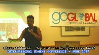 EXCITING CLIP FROM IWC JUNE 2017-INTERNATIONAL WOMENS CONFERENCE -ATLANTA 2017KHARA ASHBURNE- WOMAN- GET YOUR SEXY BACK!Sneak PeakWatch the complete 30 minutes delivery  on this our myfaithtvnetwork YouTube channel!It is a fantastic delivery!Womanyou need to watch and get your sexy back!#IWCJUNE2017#INTERNATIONALWOMENSCONFERCNE2017#MYFAITHTVNETWORK#GOGLOBALCONFERENCES