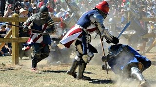 Full Contact Sword Fighting -WARNING GRAPHIC-