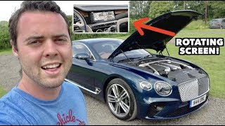 AMAZING FEATURES OF THE $225,000 '19 BENTLEY CONTINENTAL GT! by Vehicle Virgins