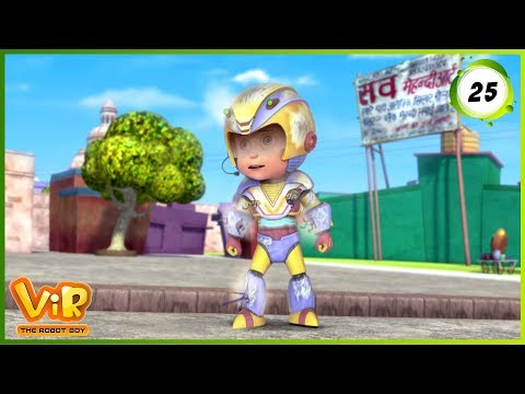 Vir: The Robot Boy | Vir Vs Dangerous Seven Part 2 | Action Show For Kids | 3d Cartoons