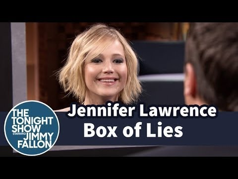 Box of Lies with Jennifer Lawrence- Tonight show.