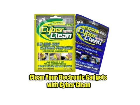 Clean Your Electronic Gadgets with Cyber Clean