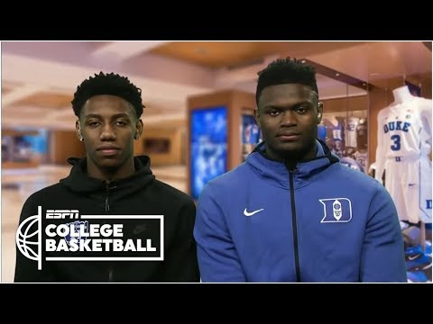 Duke's Zion Williamson and RJ Barrett 'locked in' for NCAA tournament | ESPN Bracketology