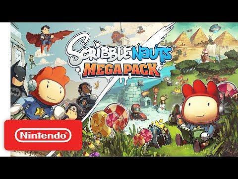 Scribblenauts Mega Pack - Launch Trailer - Nintendo Switch (видео)